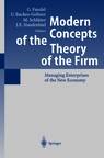 Modeln Concepts of the Theory of the Firm