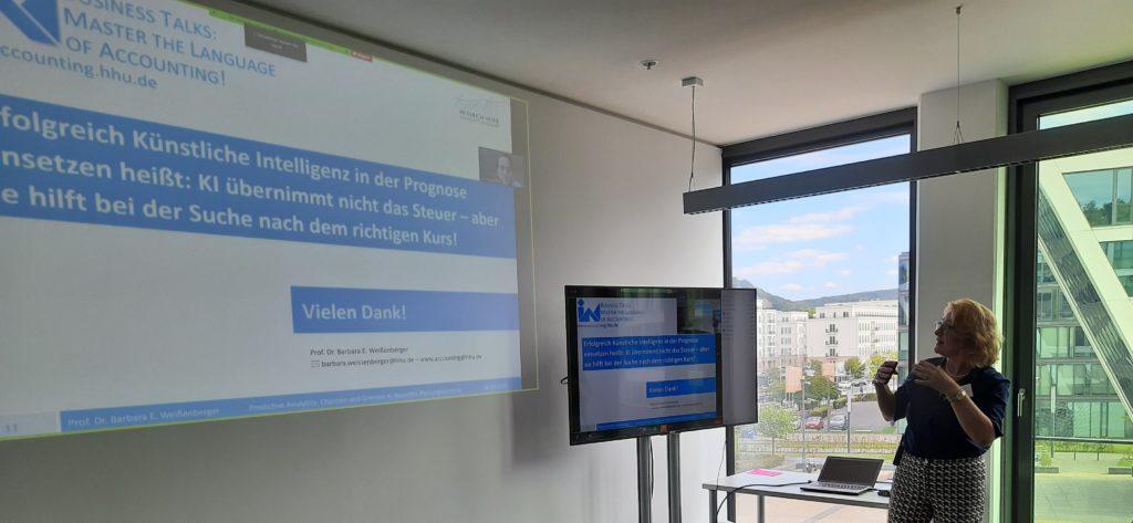 Vortrag Prof. Dr. Barbara Weißenberger